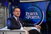 Foto/IPP/Gioia Botteghi Roma08/01/2019 Porta a porta con Giuseppe Conte Italy Photo Press - World Copyright