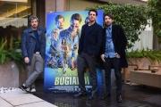 Foto/IPP/Gioia Botteghi Roma14/01/2019 Presentazione del film L'agenzia dei bugiardi, nella foto: GIAMPAOLO MORELLI, PAOLO RUFFINI, HERBERT BALLERINA Italy Photo Press - World Copyright