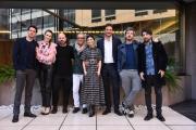 Foto/IPP/Gioia Botteghi Roma14/01/2019 Presentazione del film L'agenzia dei bugiardi, nella foto: il regista VOLFANGO DE BIASI ed il cast Italy Photo Press - World Copyright