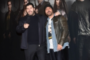 Foto/IPP/Gioia Botteghi Roma 25/03/2019 presentazione di Gomorra 4 serie Sky, nella foto: Salvatore Esposito e Marco D'amore ( regia) Italy Photo Press - World Copyright