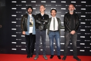 Foto/IPP/Gioia Botteghi Roma 25/03/2019 presentazione di Gomorra 4 serie Sky, nella foto: i 4 registi Claudio Cupellini, Marco D'Amore, Enrico Rosati, Ciro Visco Italy Photo Press - World Copyright