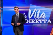 Foto/IPP/Gioia Botteghi Roma 25/03/2019 La vita in diretta, rai uno, Tiberio Timperi  Italy Photo Press - World Copyright