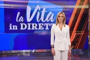 Foto/IPP/Gioia Botteghi Roma 25/03/2019 La vita in diretta, rai uno,  Francesca Fialdini Italy Photo Press - World Copyright