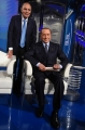 Foto/IPP/Gioia Botteghi Roma 21/05/2019 Puntata elettorale di Porta a porta con Silvio Berlusconi ospite con Bruno Vespa Italy Photo Press - World Copyright