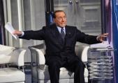 Foto/IPP/Gioia Botteghi Roma 21/05/2019 Puntata elettorale di Porta a porta con Silvio Berlusconi ospite  Italy Photo Press - World Copyright