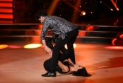 Foto/IPP/Gioia Botteghi Roma 24/05/2019 Ballando con le stelle 1° semifinale, nella foto Nunzia De Girolamo e Raimondo Todaro Italy Photo Press - World Copyright