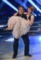 Foto/IPP/Gioia Botteghi Roma 25/05/2019 Ballando con le stelle 2° semifinale, nella foto Angelo Russo con la figlia Italy Photo Press - World Copyright