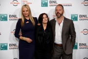 Foto/IPP/Gioia Botteghi Roma 20/10/2019 Festa del cinema di Roma 2019, Photocall del film Drowning, nella foto Mira Sorvino con la regista Melora Walters e Gil Bellows Italy Photo Press - World Copyright