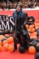 Foto/IPP/Gioia BotteghiRoma 20/10/2019 Festa del cinema di Roma 2019,red carpet del film La famiglia Addams, nella foto le voci Loredana BertèItaly Photo Press - World Copyright