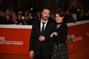 Foto/IPP/Gioia Botteghi Roma20/10/2019 Festa del cinema di Roma 14, red carpet  del film La belle epoque, nella foto Fanny Ardant con il regista Nicholas Bedos Italy Photo Press - World Copyright