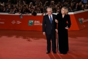 Foto/IPP/Gioia BotteghiRoma 21/10/2019 Festa del cinema di Roma 2019,red carpet del film the Irishman, nella foto:   Martin Scorsese, Helen Morris moglieItaly Photo Press - World Copyright