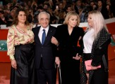 Foto/IPP/Gioia BotteghiRoma 21/10/2019 Festa del cinema di Roma 2019,red carpet del film the Irishman, nella foto:  Cathy Scorsese, Martin Scorsese, Helen Morris, Francesca ScorseseItaly Photo Press - World Copyright