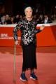 Foto/IPP/Gioia Botteghi Roma 22/10/2019 Festa del cinema di Roma 2019,red carpet del Judy, nella foto:  Licia Fertz la modella più longeva della storia della moda Italy Photo Press - World Copyright