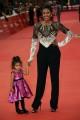 Foto/IPP/Gioia Botteghi Roma22/10/2019 Festa del cinema di Roma 14, Red Carpet con Denny Mendez con la figlia Nayara  Italy Photo Press - World Copyright