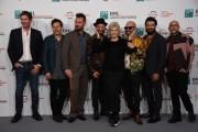 Foto/IPP/Gioia Botteghi Roma25/10/2019 Festa del cinema di Roma 14, Photocall Negramaro, l'anima vista da qui, nella foto : i Negramaro con Caterina Caselli Italy Photo Press - World Copyright