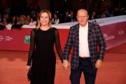 Foto/IPP/Gioia BotteghiRoma 25/10/2019 Festa del cinema di Roma 2019, red carpet , nella foto: Massimo Boldi con la compagnaItaly Photo Press - World Copyright