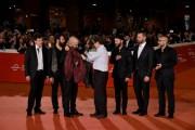Foto/IPP/Gioia BotteghiRoma 25/10/2019 Festa del cinema di Roma 2019, red carpet del film Negramaro. L'anima vista da qui conAntonio Monda nello scambio della giaccaItaly Photo Press - World Copyright