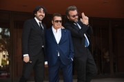 Foto/IPP/Gioia BotteghiRoma 26/10/2019 Festa del cinema di Roma 2019, red carpet Cecchi Gori – Una famiglia italianana, nella foto  Simone Isola, Vittorio Cecchi Gori, Marco SpagnoliItaly Photo Press - World Copyright