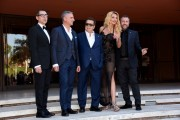 Foto/IPP/Gioia BotteghiRoma 26/10/2019 Festa del cinema di Roma 2019, red carpet Cecchi Gori – Una famiglia italianana, nella foto Vittorio Cecchi Gori e Valeria Marini, Italy Photo Press - World Copyright