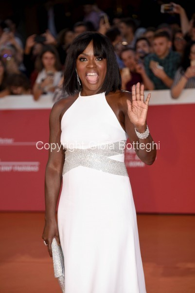 Foto/IPP/Gioia Botteghi Roma 26/10/2019 Festa del cinema di Roma 2019, Red carpet Viola Davis Italy Photo Press - World Copyright