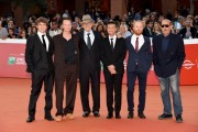 Foto/IPP/Gioia Botteghi Roma 27/10/2019 Festa del cinema di Roma 2019, Red carpet  Il peccato nella foto Andrei Konchalovsky regiacon gli attori : Alberto Testone, Francesco Gaudiello, Orso Maria Guerrini, Antonio Gargiulo, Jakob Diehl Italy Photo Press - World Copyright