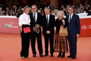 Foto/IPP/Gioia Botteghi Roma 27/10/2019 Festa del cinema di Roma 2019, Red carpet  Il peccato nella foto Andrei Konchalovsky regia, La moglie July, Paolo Del Brocco produzione, Elda Ferri e consorte Italy Photo Press - World Copyright