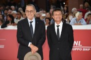 Foto/IPP/Gioia Botteghi Roma 27/10/2019 Festa del cinema di Roma 2019, Red carpet  Il peccato nella foto Andrei Konchalovsky regia, Alberto Testone protagonista del film Italy Photo Press - World Copyright