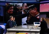 Foto/IPP/Gioia Botteghi Roma 17/11/2019  puntata Mezz'ora in più di Lucia Annunziata , ospite Ilaria Cucchi con l'avvocato Fabio Anselmo Italy Photo Press - World Copyright