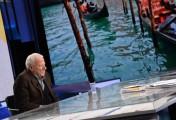 Foto/IPP/Gioia Botteghi Roma 17/11/2019  puntata Mezz'ora in più di Lucia Annunziata , ospite Achille Bonito Oliva Italy Photo Press - World Copyright