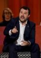 Foto/IPP/Gioia Botteghi Roma26/11/2019 Puntata del Maurizio Costanzo Show, nelle foto Matteo Salvini Italy Photo Press - World Copyright