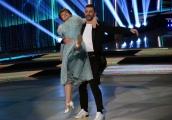 Foto/IPP/Gioia Botteghi Roma 30/03/2019 Prima puntata di Ballando con le stelle 2019, nella foto Milena Vukotic con Simone Di Pasquale Italy Photo Press - World Copyright