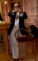 Foto/IPP/Gioia Botteghi Roma 30/03/2019 Prima puntata di Ballando con le stelle 2019, nella foto Guillermo Mariotto con l'abito da Papa Italy Photo Press - World Copyright