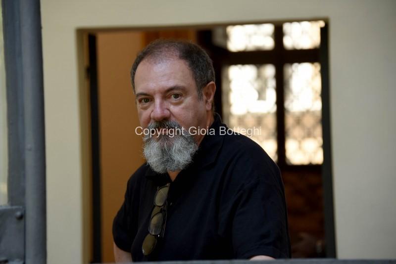 Foto/IPP/Gioia BotteghiRoma 17/06/2019 Festival delle letterature 2019, nella foto : Carlo LucarelliItaly Photo Press - World Copyright