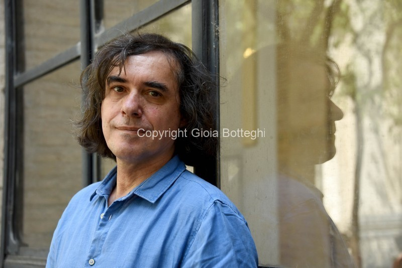 Foto/IPP/Gioia Botteghi Roma 12/06/2019 Festival delle letterature 2019, nella foto: Mircea Cartarescu  Italy Photo Press - World Copyright