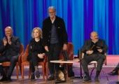 Foto/IPP/Gioia Botteghi Roma 30/04/2019  Maurizio Costanzo show sesta puntata, nella foto: Enrico Lucherini con Maurizio Costanzo Italy Photo Press - World Copyright