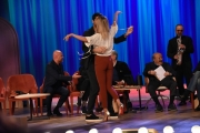 Foto/IPP/Gioia Botteghi Roma 30/04/2019  Maurizio Costanzo show sesta puntata, nella foto: Soleil Sorge e  Jeremias Rodriguez  Italy Photo Press - World Copyright