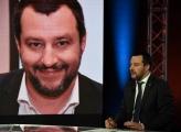 Foto/IPP/Gioia Botteghi Roma24/01/2019 prima puntata della trasmissione Povera patria su rai 2 , nella foto: l'ospite in onda domani sera Matteo Salvini Italy Photo Press - World Copyright