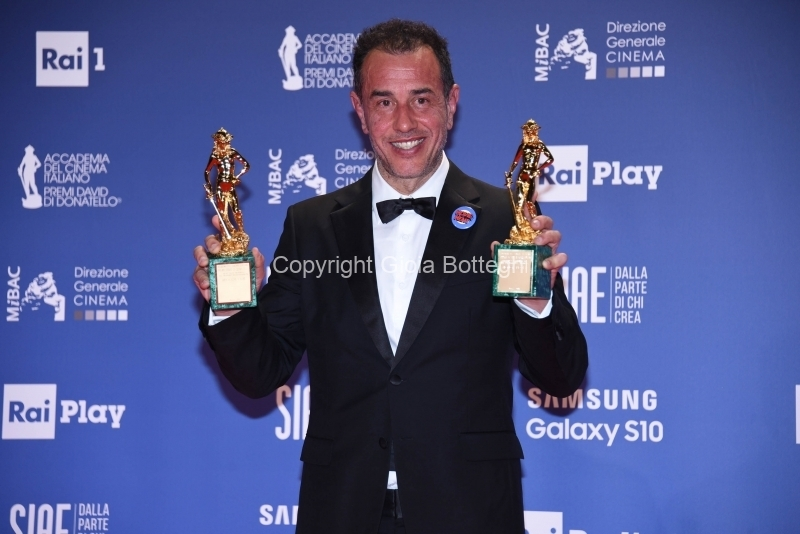 Foto/IPP/Gioia BotteghiRoma27/03/2019 Premio david di Donatello red carpet, nella foto:     Matteo GarroneItaly Photo Press - World Copyright