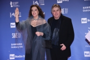Foto/IPP/Gioia BotteghiRoma27/03/2019 Premio david di Donatello red carpet, nella foto: Stefania Sandrelli con maritoItaly Photo Press - World Copyright