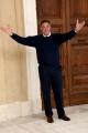 Foto/IPP/Gioia Botteghi Roma 02/04/2019 Visita sul set e conferenza stampa della fiction di rai in 6 puntata L'Aquila, grandi speranze, nella foto: Luca Barbareschi Italy Photo Press - World Copyright