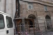 Foto/IPP/Gioia Botteghi Roma 02/04/2019 Visita sul set e conferenza stampa della fiction di rai in 6 puntata L'Aquila, grandi speranze, nella foto:   il centro della città dopo 10 anni dal terremoto Italy Photo Press - World Copyright