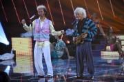 Foto/IPP/Gioia BotteghiRoma 13/09/2019 Puntata di Tale e quale show, nella foto Gigi e Ross che imitano I RigheiraItaly Photo Press - World Copyright