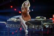 Foto/IPP/Gioia BotteghiRoma 13/09/2019 Puntata di Tale e quale show, nella foto Eva Grimaldi che imita Amanda LearItaly Photo Press - World Copyright