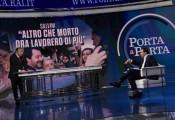 Foto/IPP/Gioia Botteghi Roma 28/01/2020 Porta a porta con Bruno Vespa ospite Matteo Salvini Italy Photo Press - World Copyright