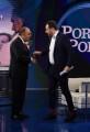 Foto/IPP/Gioia Botteghi Roma 28/01/2020 Porta a porta con Bruno Vespa ospite Matteo Salvini e il calzino rosso Italy Photo Press - World Copyright