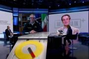 Foto/IPP/Gioia Botteghi Roma 23/02/2020   Trasmissione mezz'ora in più, Speciale Coronavirus, nella foto : Walter Ricciardi, igiene e salute comitato esecutivo OMS Italy Photo Press - World Copyright