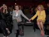 Foto/IPP/Gioia Botteghi Roma12/04/2019 festeggiamento in rai per i 30 anni di Blob di rai3, nella foto Sandra Milo, Franca Leosini, Alba Parietti Italy Photo Press - World Copyright