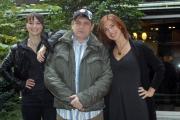 15/11/07 Presentazione della 50° edizione dello Zecchino D'oro, nelle foto : i tre conduttori Veronica Maya , Lorena Bianchetti, Francesco Salvi
