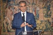 Foto/IPP/Gioia Botteghi Roma21/11/2018  Presentazione 50° anniversario del Concorso Radiotelecronisti Rai, nella foto il presidente della Rai Marcello Foa  Italy Photo Press - World Copyright