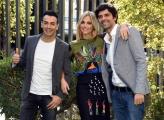 Foto/IPP/Gioia Botteghi Roma08/11/2018  Presentazione  del 61° Zecchino d'oro, nella foto i presentatori Francesca Fialdini con Gigi e Ross  Italy Photo Press - World Copyright